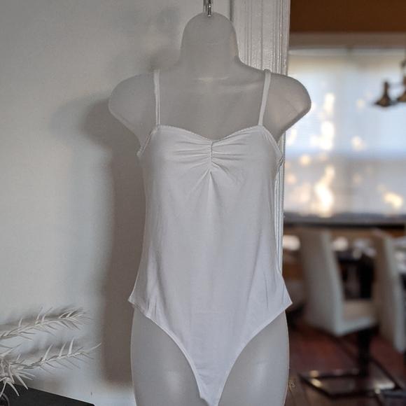 Forever 21 Tops - White Bodysuit